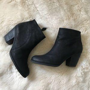 Black Franco Sarto Booties